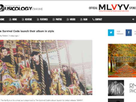 LAUNCH NIGHT REVIEW FROM MUSICOLOGY