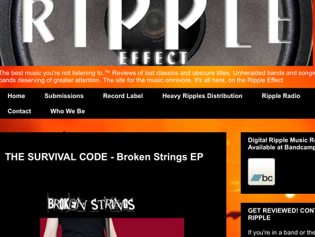 Ripple music review – Broken Strings EP