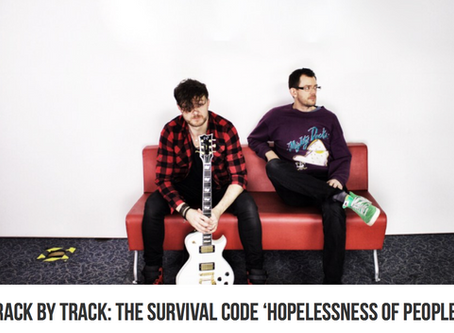 VENTS mag TRACK BY TRACK chat for HOPELESSNESS OF PEOPLE