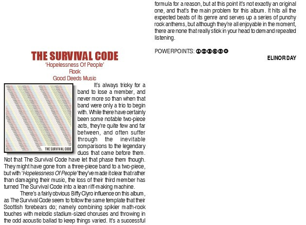 The Survival Code PP