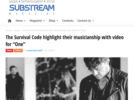 Sub stream magazine talk about our new single ONE