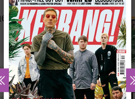KERRANG! MAGAZINE review HOPELESSNESS OF PEOPLE