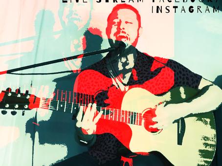 Live and unplugged V June 4th 2020 Facebook/Instagram live stream