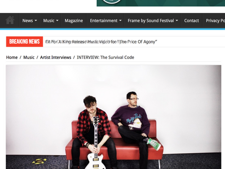 Vents magazine sit down for a chat with us