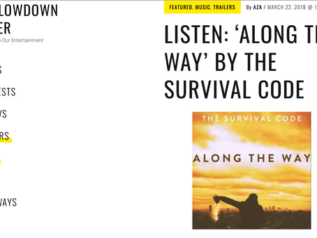 """""""THE LOWDOWN UNDER"""" review """"ALONG THE WAY"""""""
