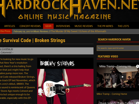 HARD ROCK HAVEN BROKEN STRINGS EP REVIEW