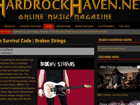 HARD ROCK HAVEN BROKEN STRINGS EP REVIEW