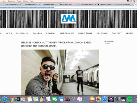MUSIC MUSO FEATURED OUR NEW SINGLE
