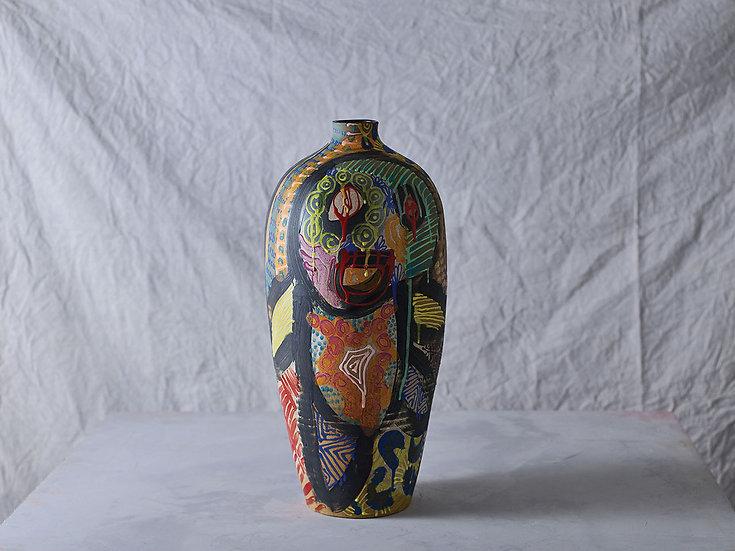 Anthropoid Vase L003