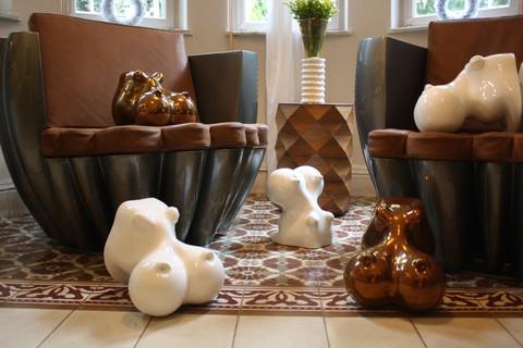 Cloud armchairs by Samuel Ben Shalom Jojo by Dor Carmon