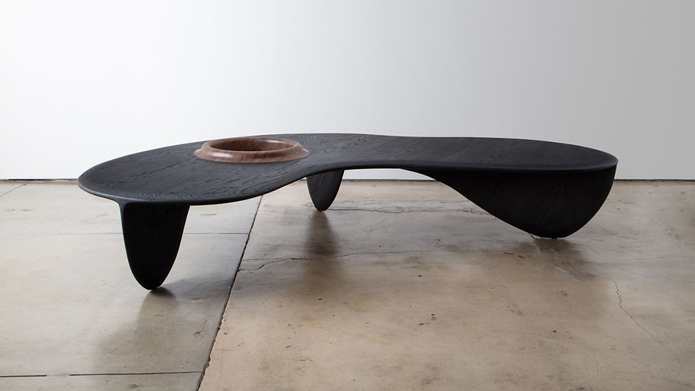 Volcano Black Coffee Table