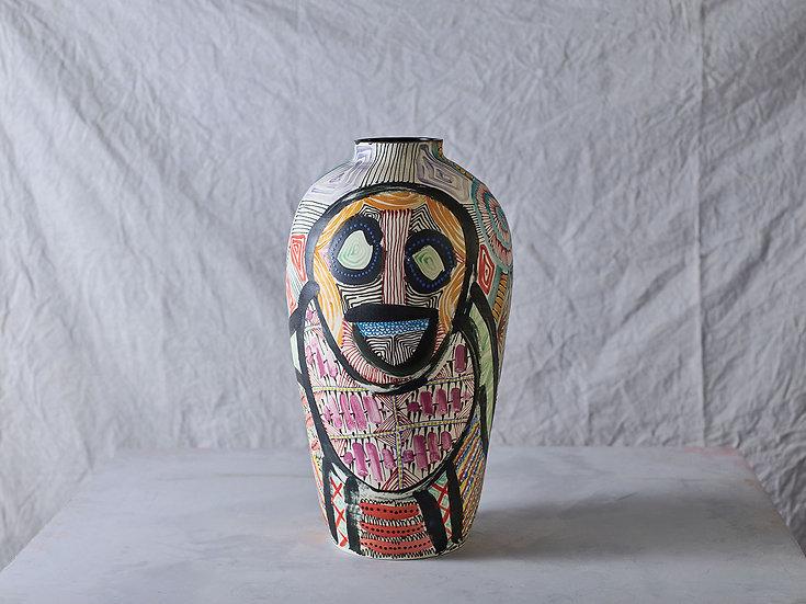 Anthropoid Vase L002