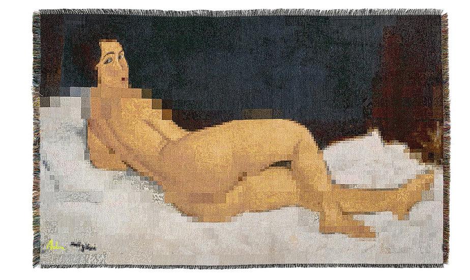 Nu couché, Modigliani 9.2.2019