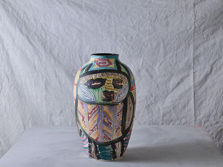 Anthropoid Vase M013