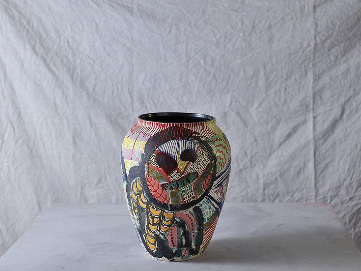 Anthropoid Vase M015