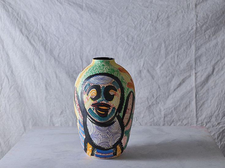 Anthropoid Vase M014