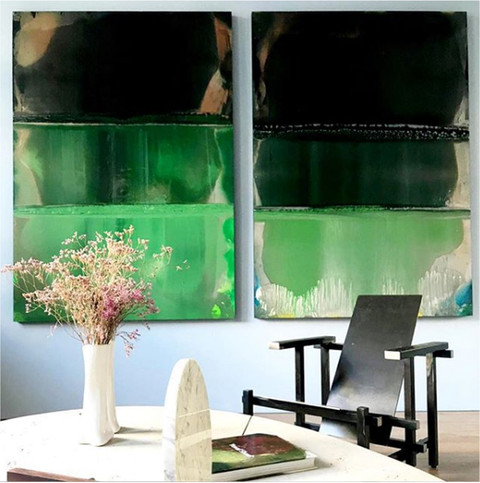 Vacations (Green) by Yuval Shaul Pebble Tavertine by Gal Gaon Ossobucco by Gal Gaon