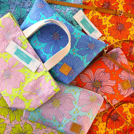 ジャナ・ラム・ハワイがファイティング・イールとのコラボデザイン「ベタフィッシュ・ブルーム」を発表