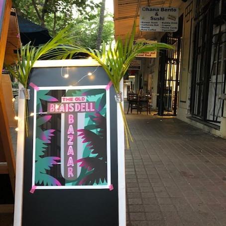 """ホノルルダウンタウンの最古のホテルを再利用 """"The Old Blaisdell Bazaar """""""