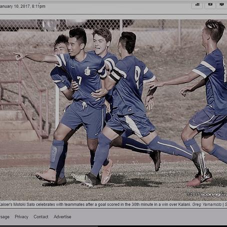 ハワイの高校サッカーシーズン真っ盛り!