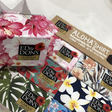 エド・アンド・ドンズ・オブ・ハワイが新製品の「アロハシャツ・チョコレート」発売 !