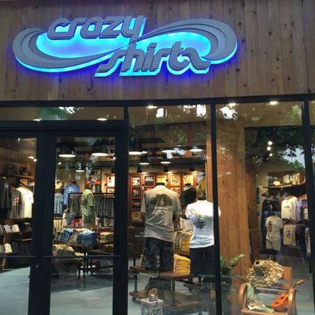 クレイジーシャツ新インターナショナル マーケットプレイス内に、店舗を再オープン