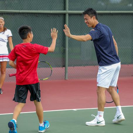 スポーツ競技の取材:ハワイオープン