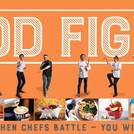 有名シェフの料理対決「FOOD  FIGHT」をインターナショナル・マーケットプレイス1階のクイーンズコートで、毎⽉開催!