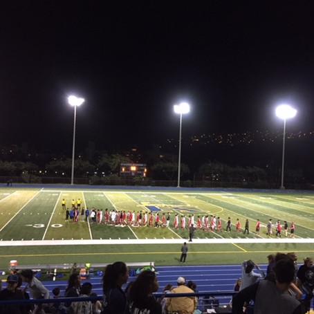 今は ハワイの高校サッカーシーズン中!