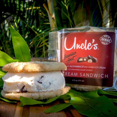ハワイアンホーストとアンクルズ・アイスクリームのコラボ商品が新登場!