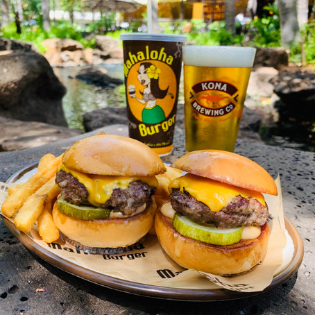 マハロハバーガーでパウハナを楽しもう! ビールとワインに話題の新メニューとキッズミールが登場!