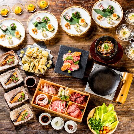 MINORI Craft Japanese Tavern 「創作居酒屋みのり By 塚田農場」が ホリデーディナー限定予約とお弁当販売を開始