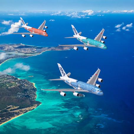全日空 Flying Honu ホノルル便5月に就航