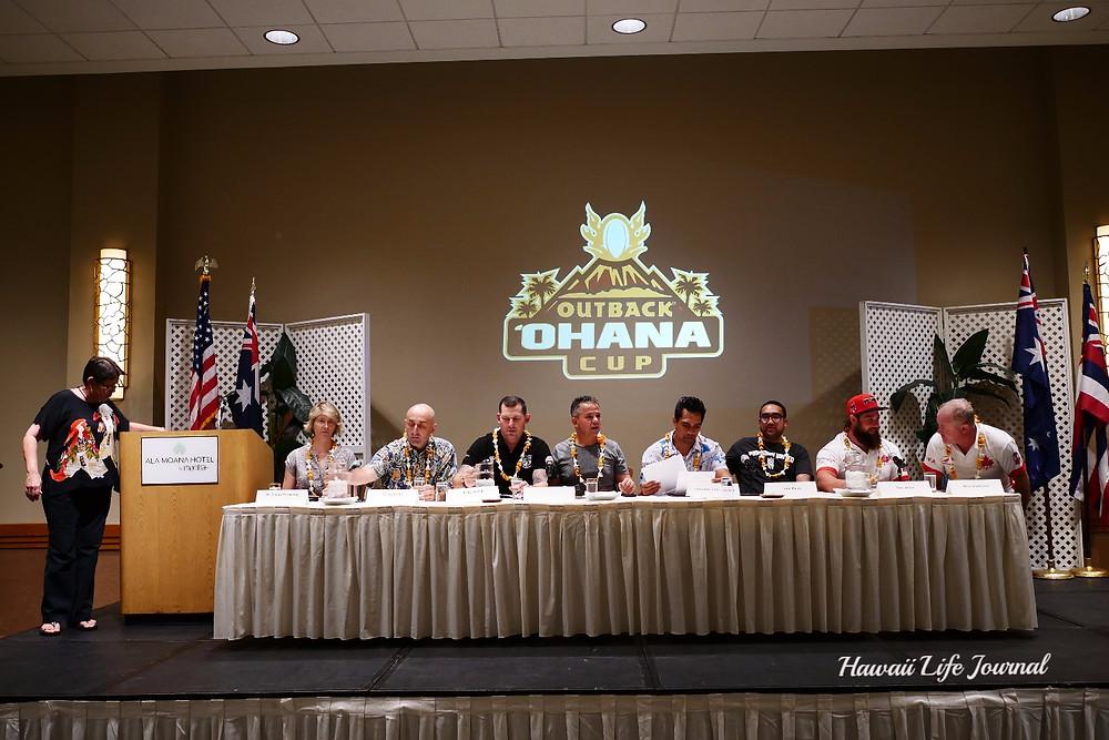 Ohana Cup2017:ラグビーの親善試合が今夜ローカル高校で開催です!