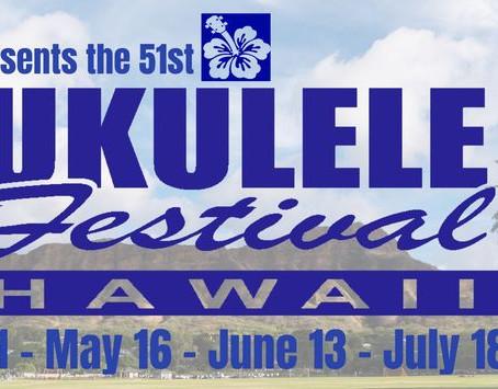 2021年度ウクレレフェスティバル・ハワイの冠スポンサーにハワイアンホースト社!