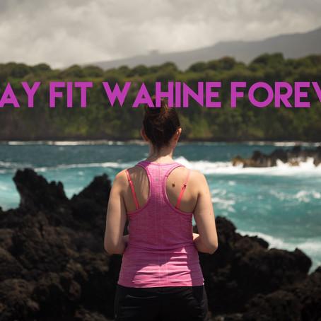"""新しい大人の女性のためのフィットネスクラス""""Stay Fit Wahine Forever"""""""