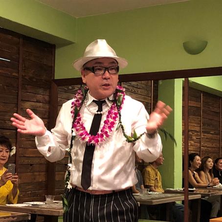 NY在住のトシカプチーノ・トークショー in Hawaii