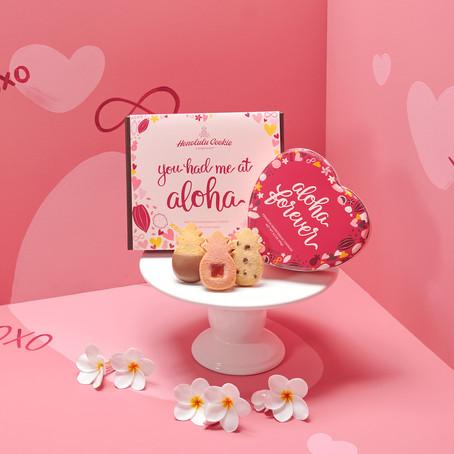 ホノルル・クッキー・カンパニーが、新年に、愛、幸運と甘さをお贈りします