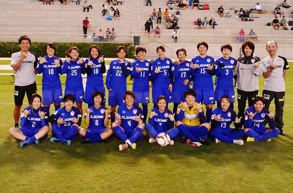 ノジマステラ神奈川相模原、日本女子プロサッカーチームが初めてハワイにやってきた!