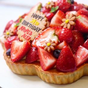 最高のバースデーケーキ!