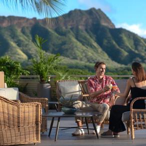ロマンチックな至福のひと時を過ごすクイーンカピオラニホテル「デック」の一日限定バレンタインデーコースメニュー
