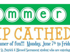 Summer Camp Cathedral - June 7 to July 30, 2021