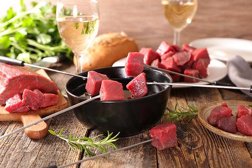 Luxe fondue per persoon (450 gr)
