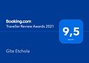 awards booking 2021