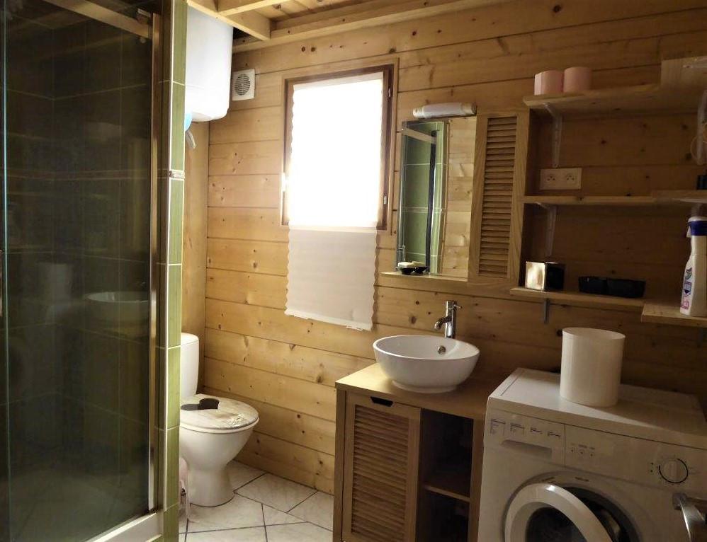 salle de bain gite etchola