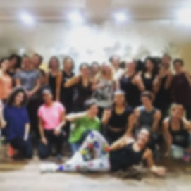 Steamiest and sweatiest #zumba #class ev