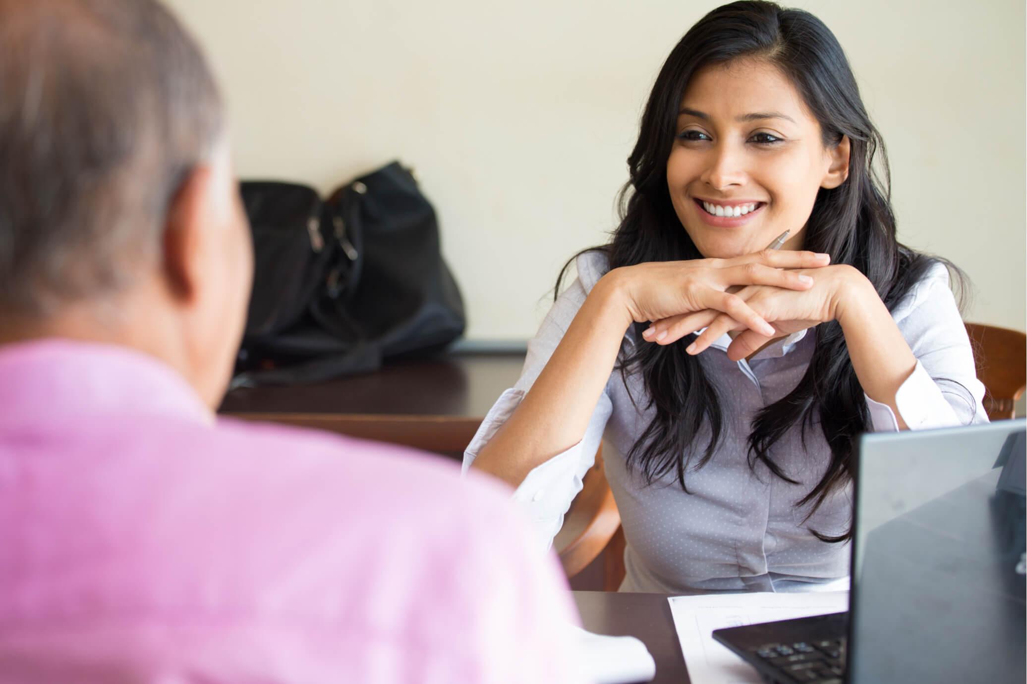 evaluating receptionist