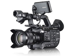 Sony FS5 cameraman and filming