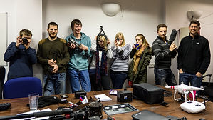 video production training and teaching - editing and filming