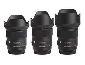 Sigma ART lenses